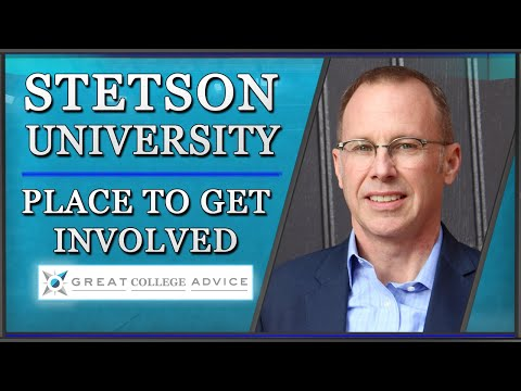 Admissions Adviser on Stetson University: A Place to Get Involved