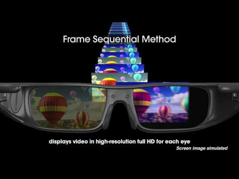 Frame sequential 3D explained (Sony promo video)