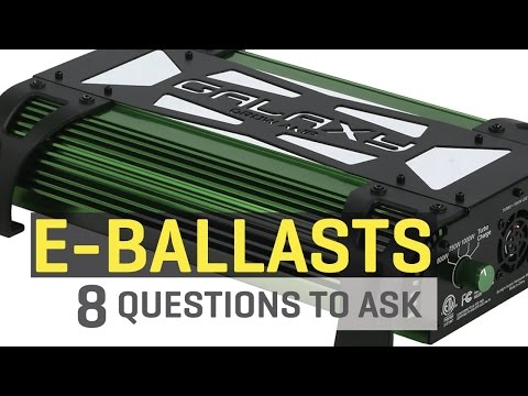 Electronic Ballasts — 8 Questions to Ask