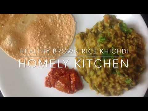 Healthy Brown Rice Khichdi