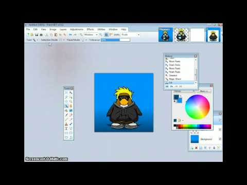 How to Make a Icon For Twitter In Paint.NET - Tutorial