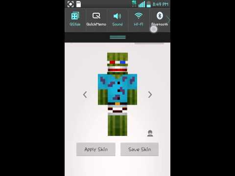 How to get free mcpe skins without jailbreak