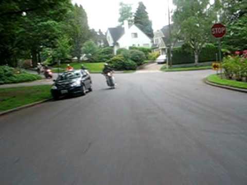 Honda C70, The Portland 195 Riders Laurelhurst Ride
