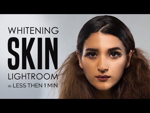 Lightroom Tutorial : Change Skin Color Dark to Light in Less than a Min