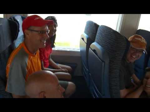 5-Second Train from to La Spezia to Bologna via Parma