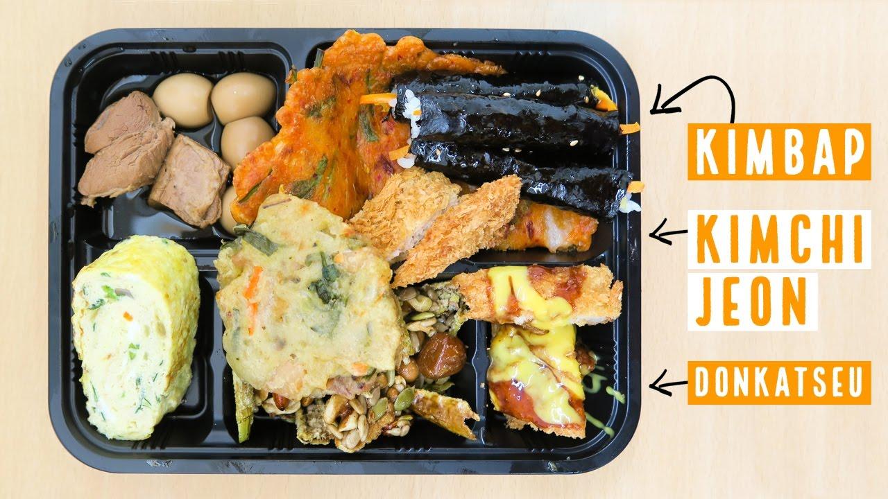 Korean Lunch Box at Tongin Market