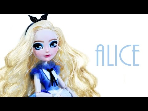 How to make an Alice in Wonderland Doll