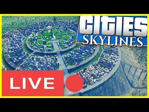 🔴BUILDING THE GREATEST CITY EVER CREATED! (Cities: Skylines #1)