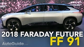 Faraday Future FF 91 First Look: Is It Really a Tesla-Fighter? - 2017 Consumer Electronics Show
