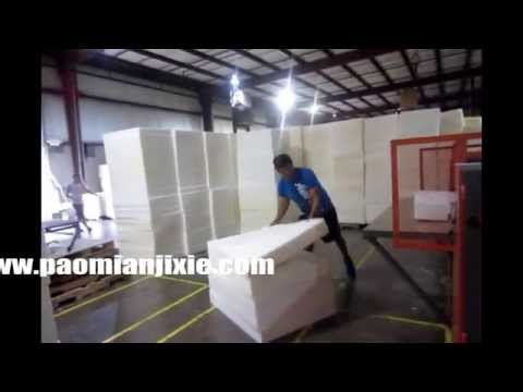 foam profile cutting machine assemble in USA -  foam convoluter
