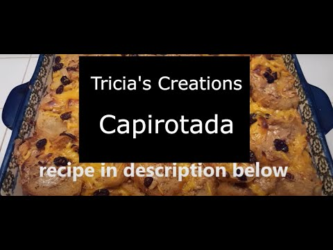 Tricia's Creations: Capirutada Mexican Bread Pudding: lazy version