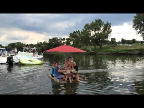 picnic table boat 11
