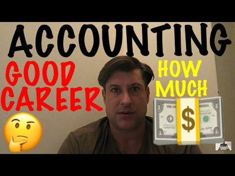 is ACCOUNTING A GOOD CAREER ?? / How Much MONEY can you MAKE as an ACCOUNTANT if that is your CAREER