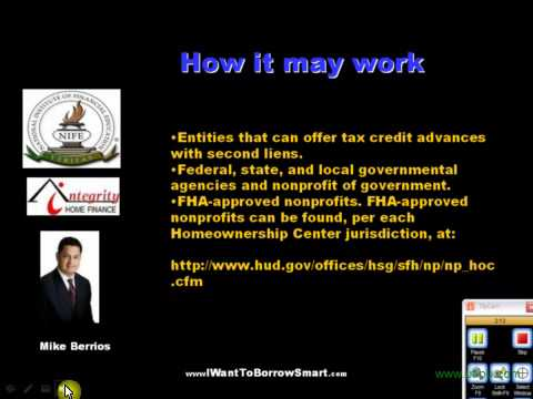 $8000 Tax Credit to be used as downpayment