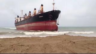 TOP 5 SHIPS CRASHING INTO SHORE