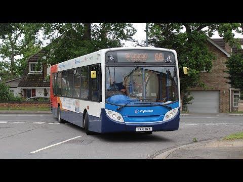 Stagecoach East Midlands   ADL Enviro 300 11.8m   66 to City Centre   27641 (FX10DVA)