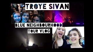 Troye Sivan Blue Neighbourhood Tour Vlog | Katie Brophy