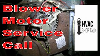 Hvac Service Troubleshooting A Blower Motor