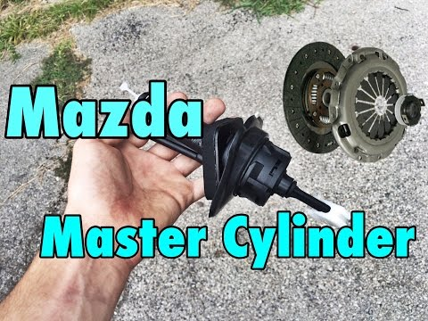 Mazda Clutch Master Cylinder Replacement