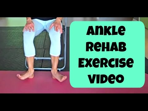 Ankle Rehab Exercises. Dont Sprain Your Ankle Again with this Workout!