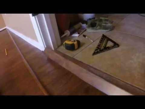 Laminate Flooring Finishing Part 3