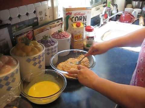 Easy to make Corn Flake Chicken