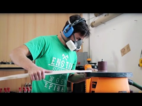 How to build a wooden longboard