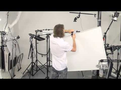 Cool DIY Diffuser for studio product photographer: how to build $20 diffuser panel and save $200