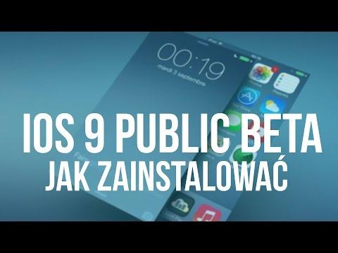 Jak zainstalować iOS 9 Public Beta na iPhone, iPod i iPad - [Poradnik]