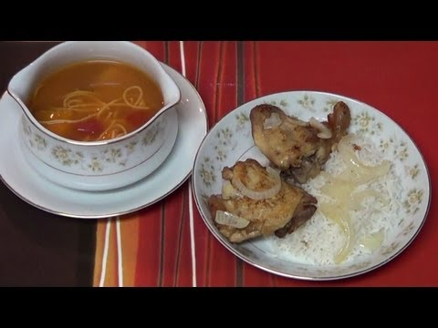 Chicken & Soup Cuban Style