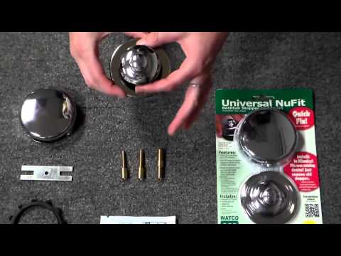 Watco Universal NuFit® Trim Kit Tub Drain Replacement Kit
