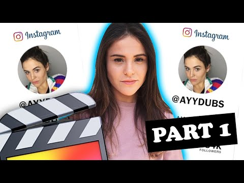 How To Make A YouTube INSTAGRAM Overlay (Part 1)