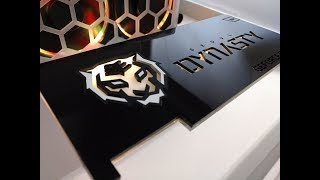 Infinity Mirror gpu backplate and gpu bracket assembly and