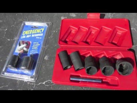 How to remove wheel locks- Lug Ripper Tools.
