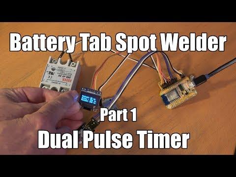 Battery Tab Spot Welder - Part 1 - Dual Pulse Timer with NodeMCU