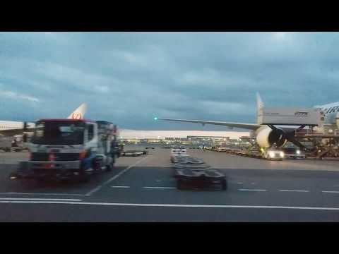 Haneda Airport International Terminal transfer to Domestic (JAL)