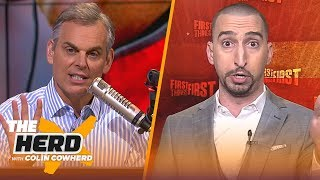 Nick Wright talks Chiefs vs Patriots and waning patience for LeBron and the Lakers | THE HERD
