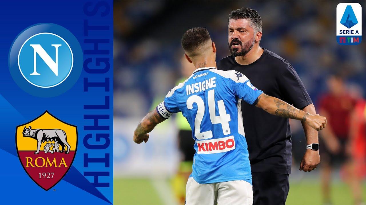 Napoli 2-1 Roma   Insigne Hits Brilliant Winner to Down Roma   Serie A TIM