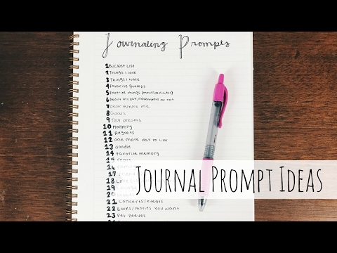 25 Journal Prompts | Journaling Ideas