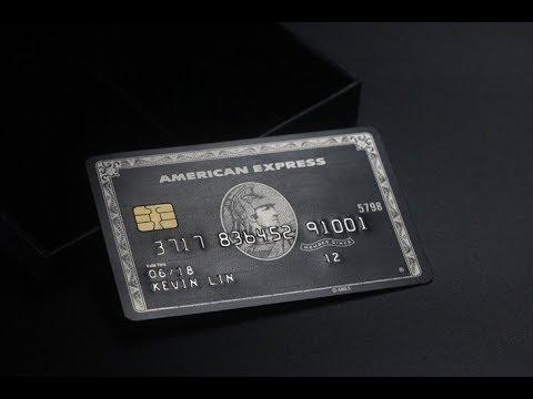 The centurion black card