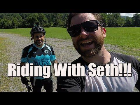 Riding With Seth (of Seth's Bike Hacks) MTB The Reeb Ranch and Dupont