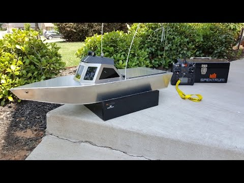 Aluminum RC Jet Boat (part 1.1) The build process