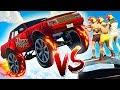 GTA V Online: PARKOUR vs RODAS GIGANTES - BONDE da GINJA EM PESO!! 🐔