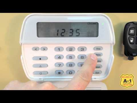 A-1 DSC How to Arm and Disarm your Power Series Alarm Panel