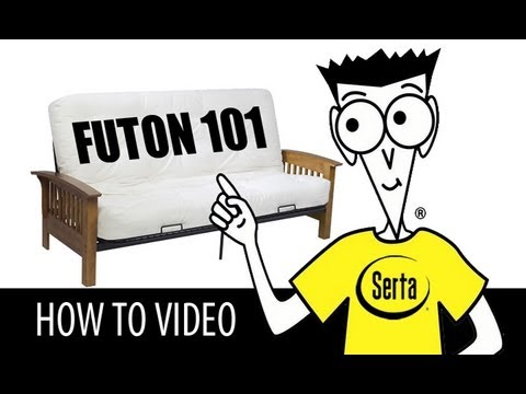 Futon 101 - Serta Futon Assembly Instructions for Dummies (How To Video)
