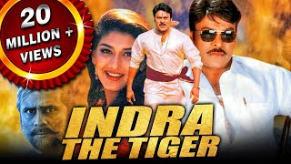 Chiranjeevi Superhit Action Hindi Dubbed Movie | Indra The Tiger | Sonali Bendre