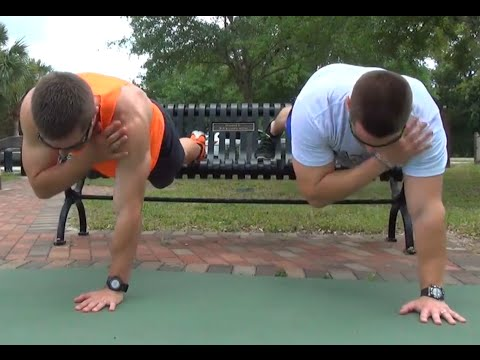 FAST Outdoor Workout to Lose Belly Fat & Build Muscle