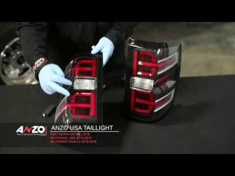 AnzoUSA 2014-15 Silverado Led Tail Light Install