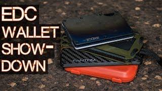 BEST EDC Wallet Showdown - Trayvax, Flipside, Fantom, Ridge Wallet review and comparison