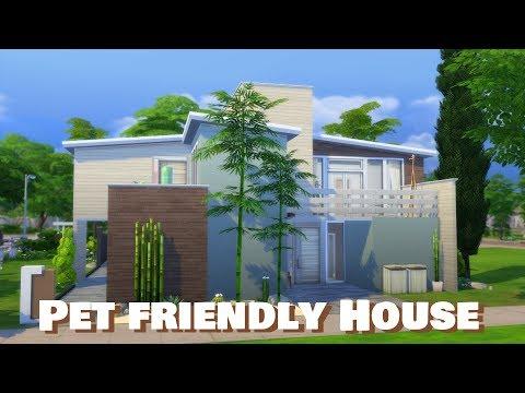 Sims 4 | House Building | Pet Friendly House (Newcrest Townhouses)
